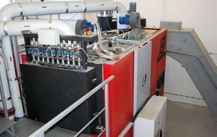 Automatyczna kotłownia z kotłem wodnym Compte For-Tech