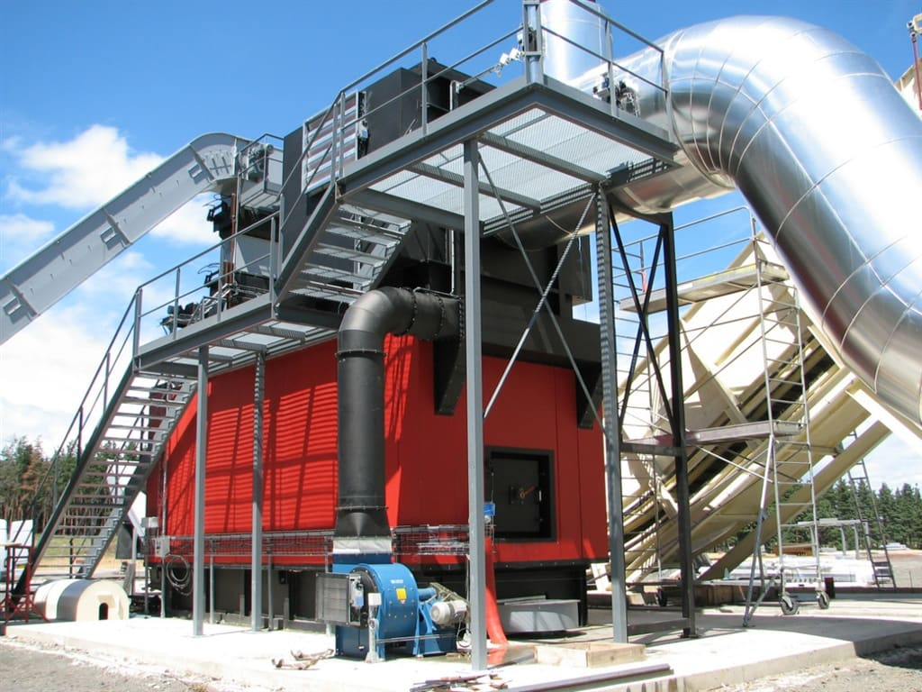 Generator gorących gazów